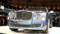2010 Bentley Mulsanne Official Unveiling at the Volkswagen Group preview evening on the eve of the 2009 Frankfurt Motor Show