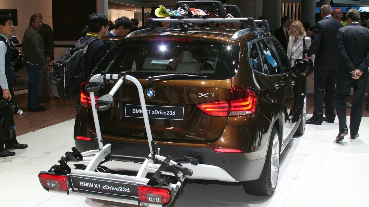 2010 BMW X1 SAV World Debut at 2009 Franfurt Motor Show