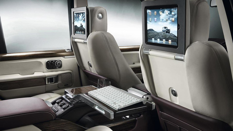 Range Rover Autobiography Ultimate Edition headed for Geneva