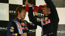 Vettel happy own teammate is 'main opponent'