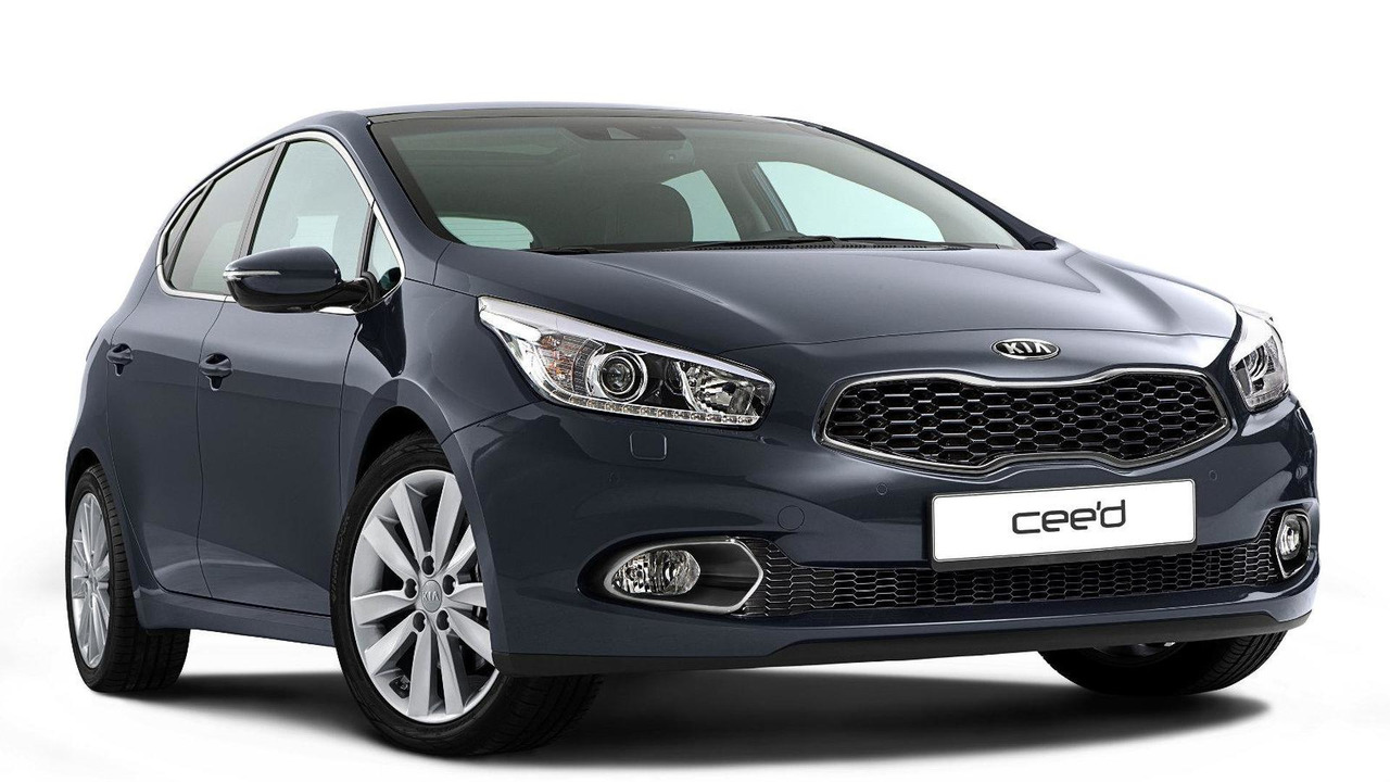 2013 Kia cee'd first photo 10.01.2012
