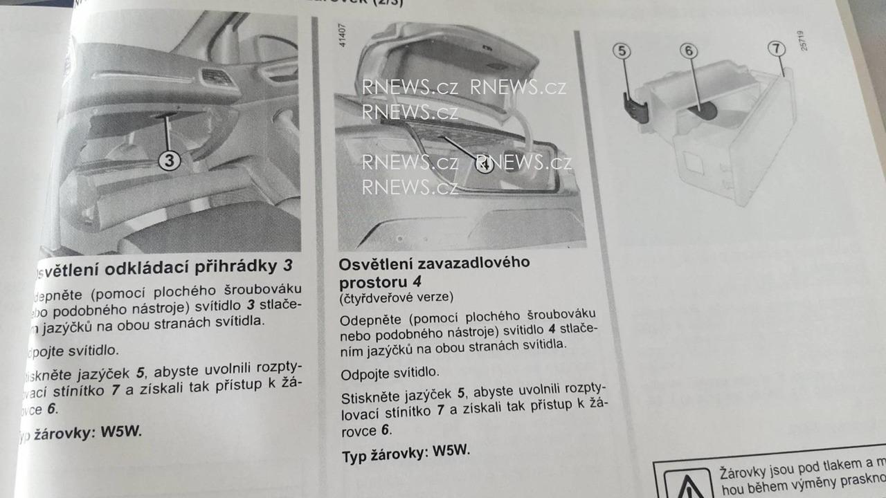2017 Renault Fluence / Megane Sedan owner's manual