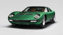 Lamborghini restores the orginal 1971 Miura SV