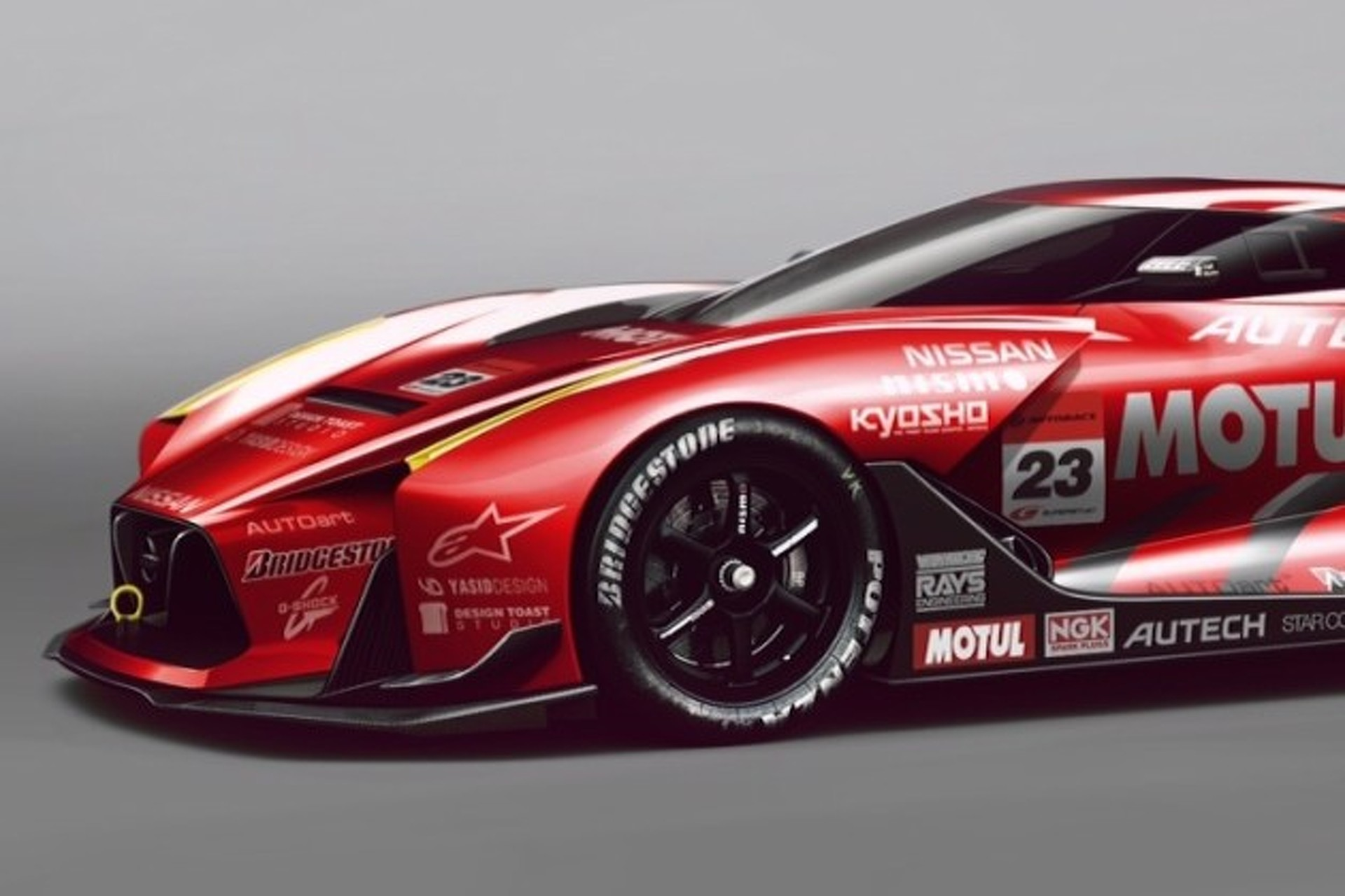 Nissan 2020 GT Concept Covered in Awesome Racing Livery