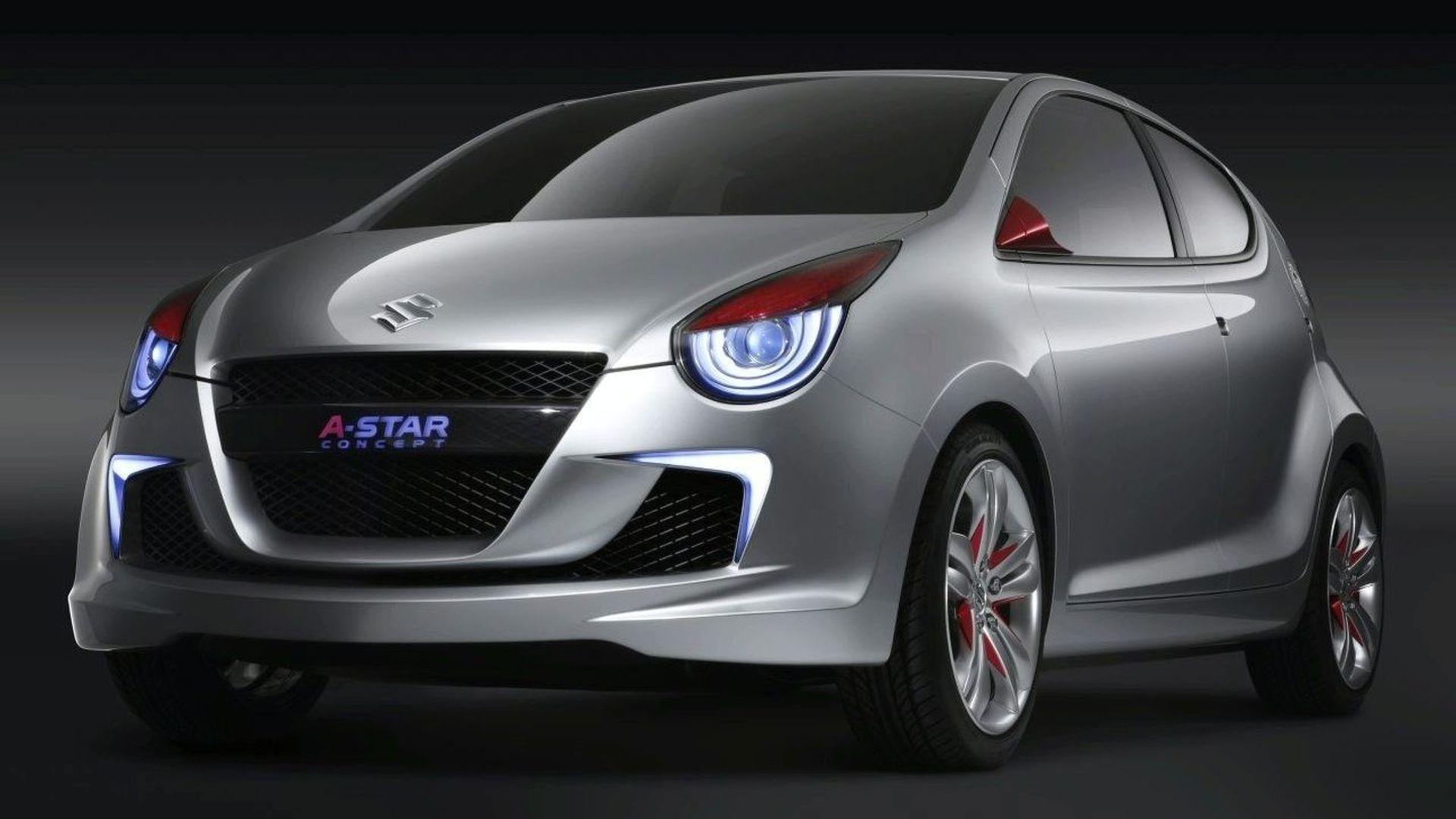 European Debut for Suzuki Concept A-Star at Geneva