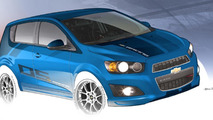 Chevrolet Sonic B-Spec race car concept revealed