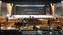 2014 Mercedes-Benz S-Class reveal at Airbus A380 delivery center