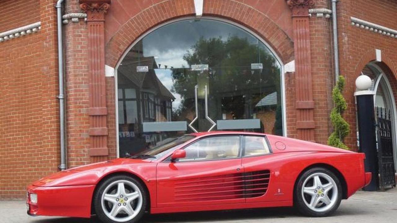1991 Ferrari 512 TR formerly owned by Sir Elton John