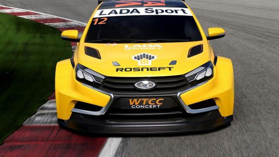 Lada Vesta WTCC concept leaked, debuts tomorrow