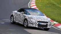 2015 Audi TT Roadster returns in fresh spy shots
