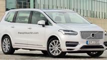 Volvo MPV render