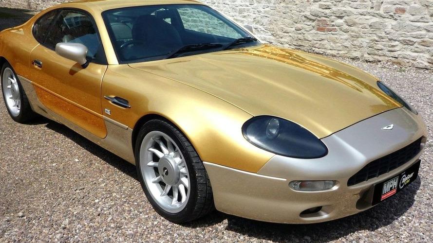 24-Carat Aston Martin DB7 by Alchemist to Debut at MPH