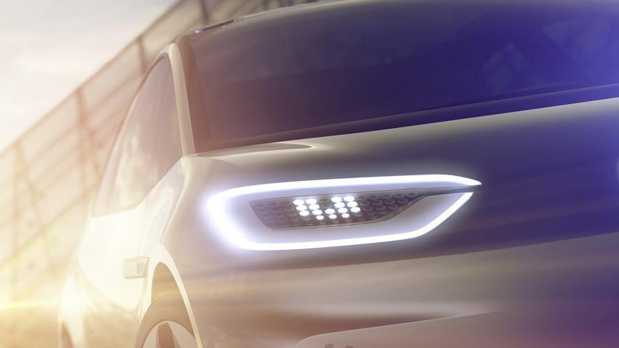 VW teases Paris-bound EV concept