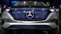 Mercedes Generation EQ concept at 2016 Paris Motor Show