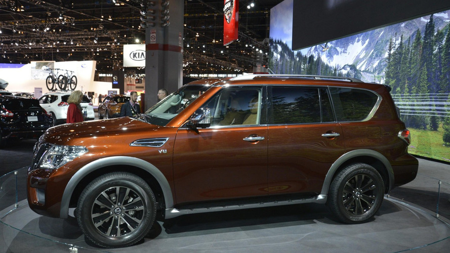 2017 Nissan Armada patrols Chicago Auto Show (53 photos)