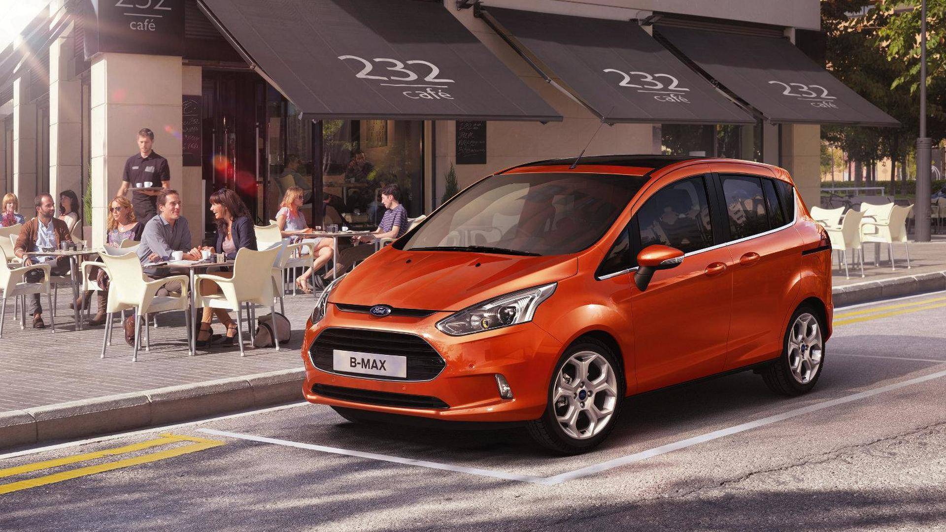 2013 Ford B-Max previewed ahead of Geneva debut