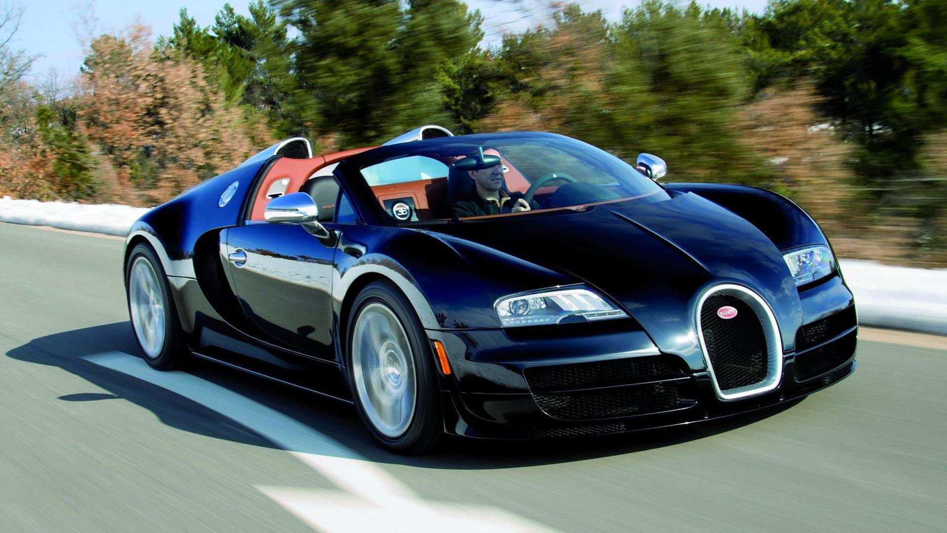 Bugatti Veyron Grand Sport Vitesse revealed with 1,200 HP
