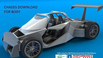 Supercar Body Challenge chassis prototype sample design, 640, 10.04.2012