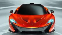 New McLaren P1 concept photos available