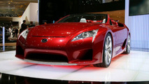Lexus LF-A Roadster European Debut in Geneva