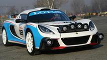 Lotus Exige R-GT Rally 28.12.2011