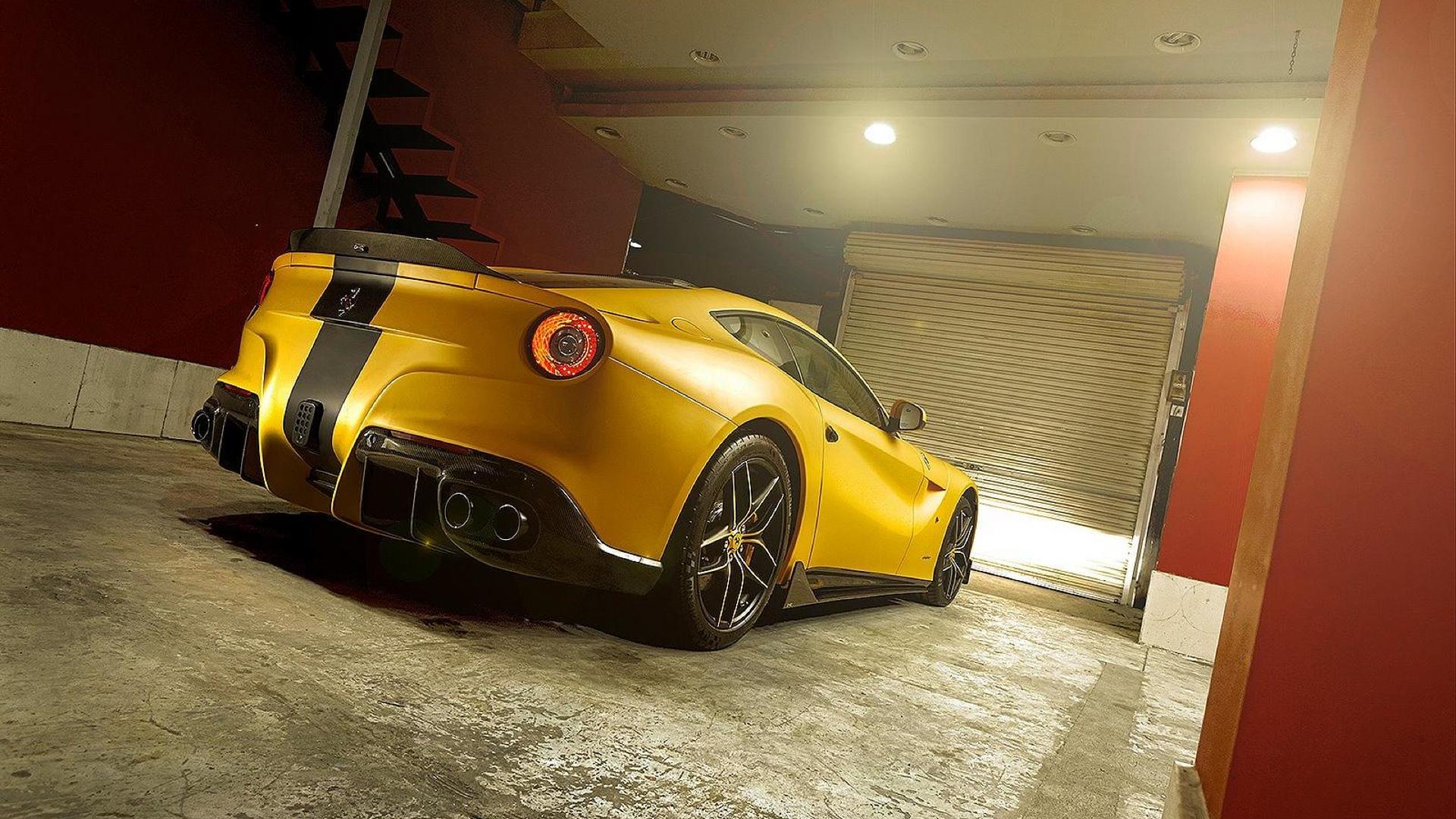 DMC launches Ferrari F12 SPIA Middle East Edition
