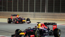 Vettel admits 'struggling' to beat Ricciardo
