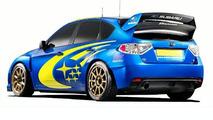 Subaru Impreza and WRC Concept