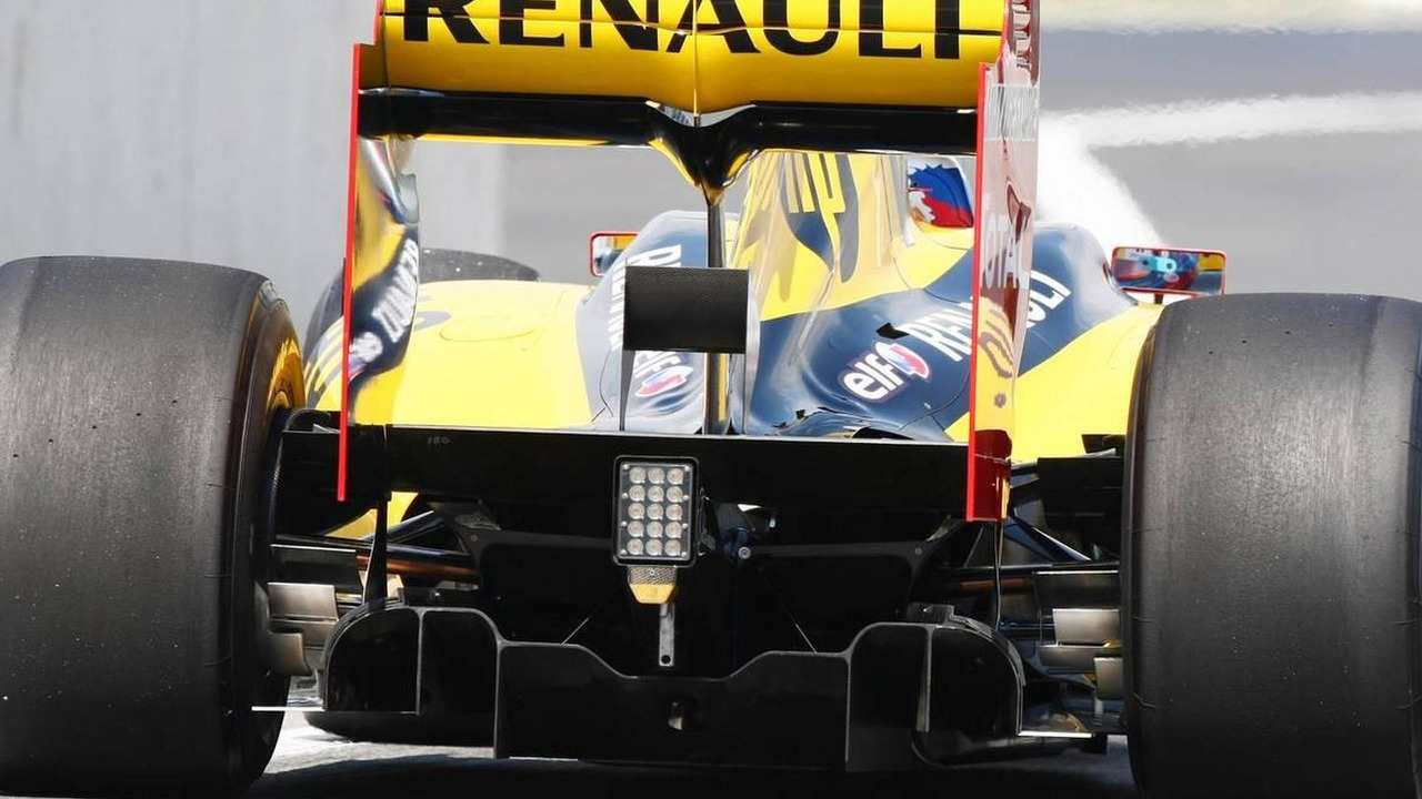 Renault Rear diffuser - Formula 1 World Championship, Rd 12, Hungarian Grand Prix, Friday Practice, 30.07.2010 Budapest, Hungary