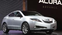 Acura ZDX Concept at New York Auto Show 2009