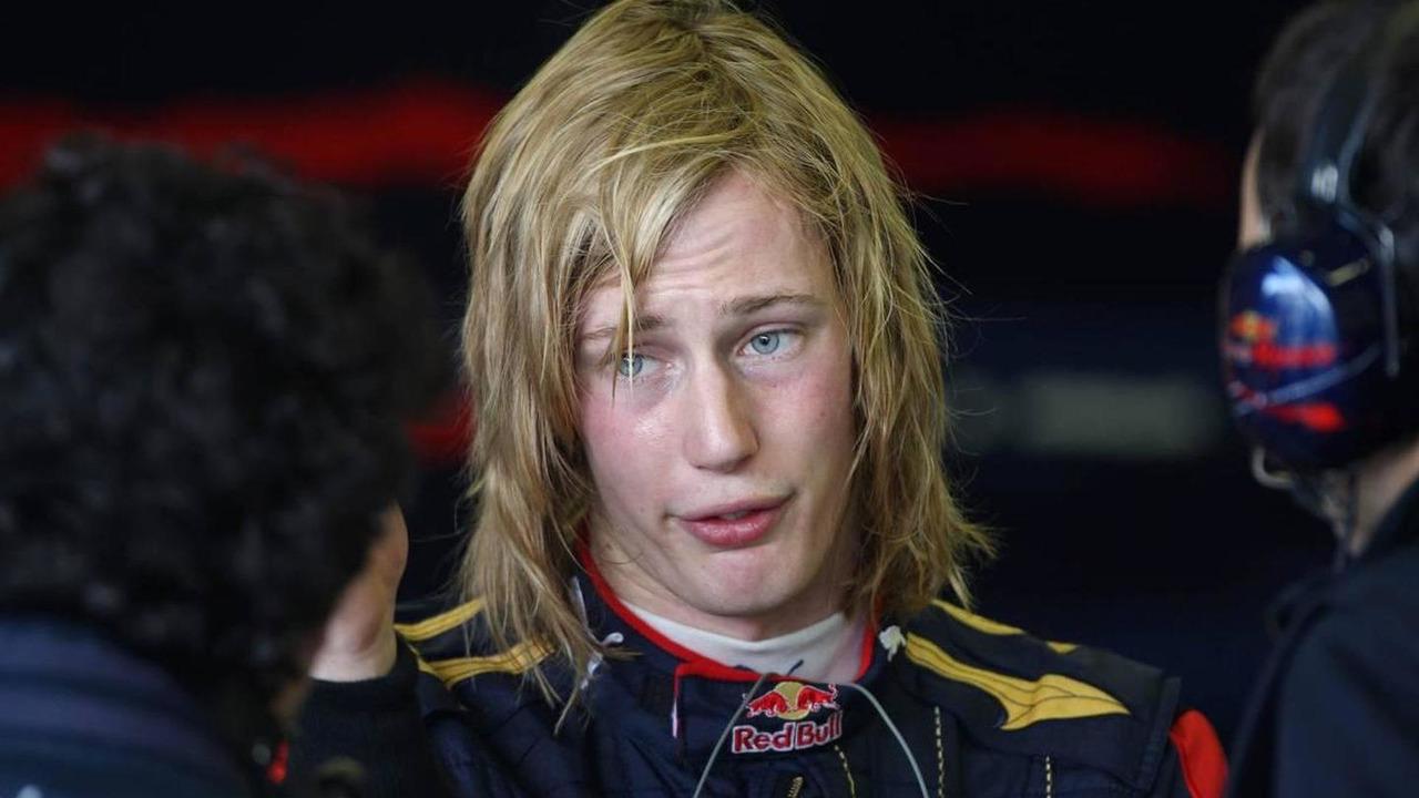 Brendon Hartley (NZL), Tests for Scuderia Toro Rosso, 03.12.2009 Jerez, Spain