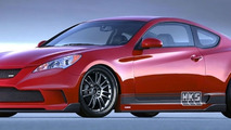 HKS Genesis Coupe
