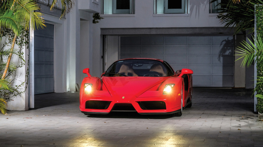 Buy Tommy Hilfiger's 3,000-mile Ferrari Enzo and actually drive it
