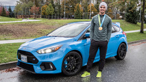 BMX champ Tory Nyhaug meets the 2017 Ford Focus RS