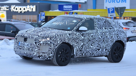 Jaguar E-Pace Spy Photos in Winter