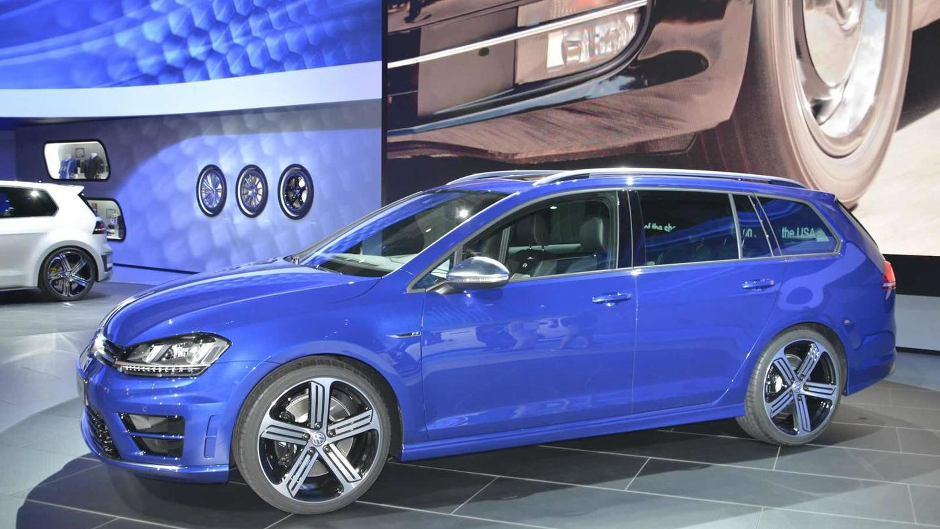 Volkswagen Golf R Variant arrives at Los Angeles as forbidden fruit