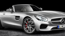 Mercedes-AMG GT Roadster render has a lot of production potential