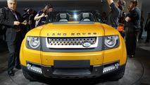 Land Rover DC100 Sport Defender Concept live in Frankfurt