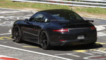 2013 Porsche 911 GT3 spied at the Nurburgring