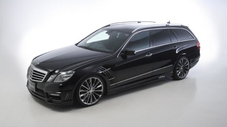 Mercedes E-Class Estate Black Bison by Wald International