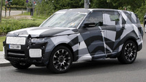 Range Rover Sport first spy photos 26.06.2012