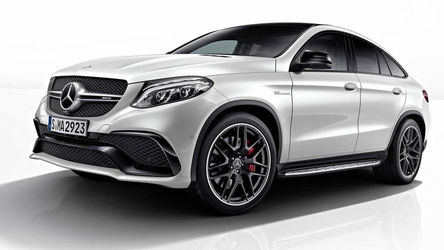 Mercedes-Benz GLE Coupe gains Night Package
