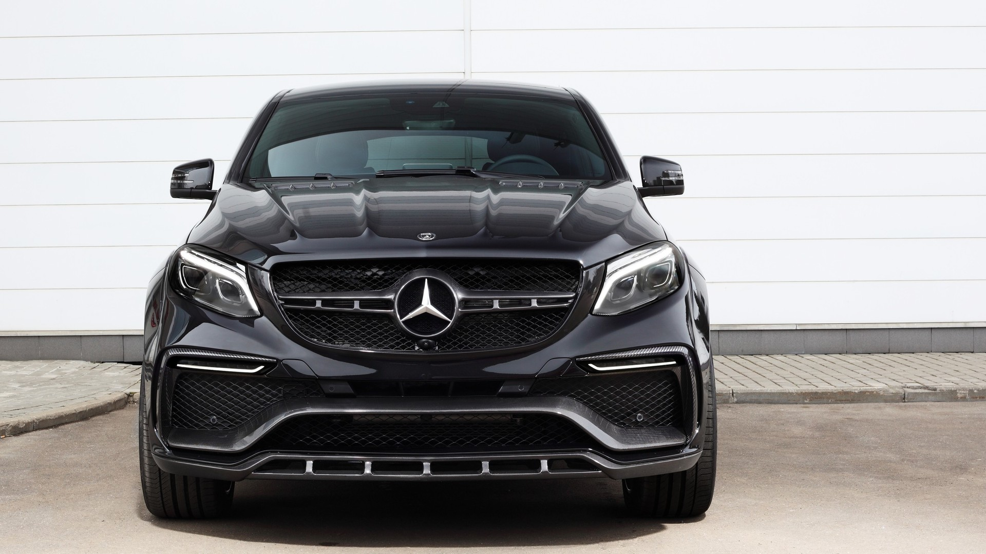 2016 topcar mercedes gle coup inferno dark cars wallpapers. Black Bedroom Furniture Sets. Home Design Ideas