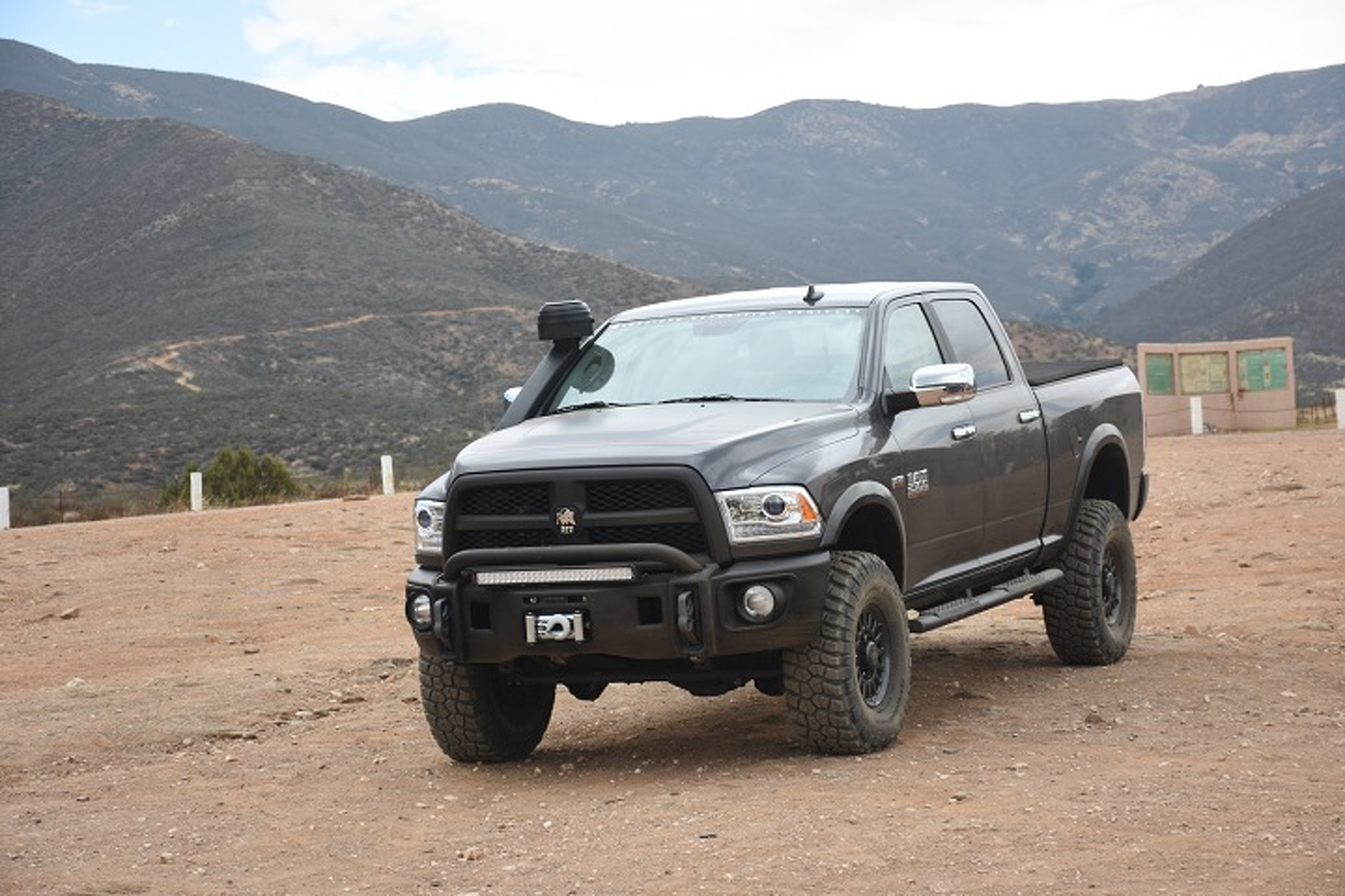 A Mountain Is No Match for the AEV Ram Prospector: First Drive