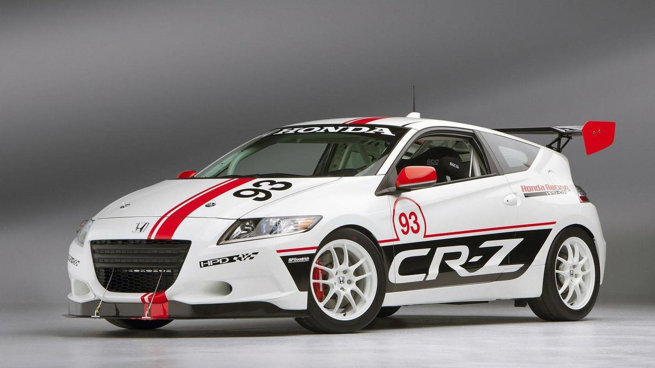 Honda CR-Z Pikes Peak race car