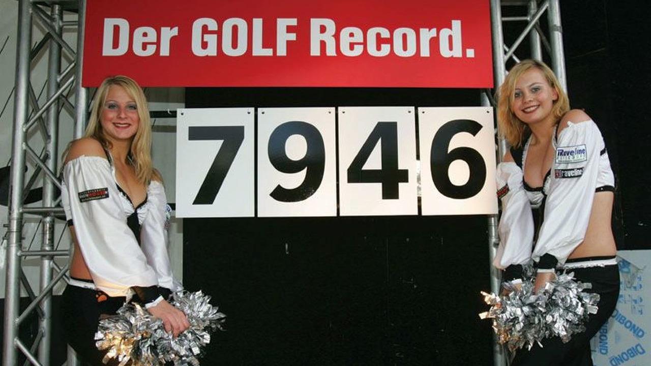 Rekord auf Schalke: 7946 Golf aus ganz Europa