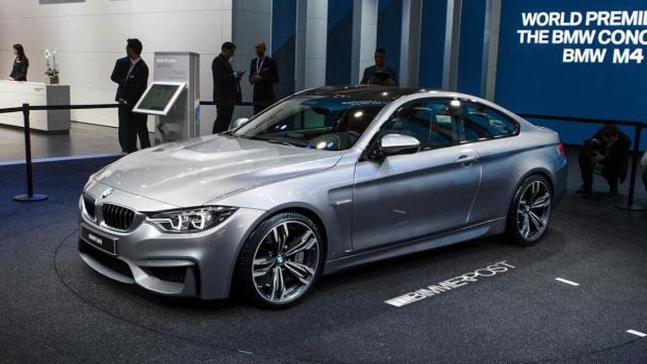 BMW M4 Coupe Concept render