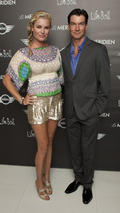 Rebecca Romijn and husband Jerry O'Connell at Life Ball MINI charity event at Vienna city hall 19.07.2010