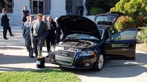 Audi A3 TDI, Governor Arnold Schwarzenegger, Eureka! Diesel Drives The Future' event, 10.19.2010, Sacramento, California