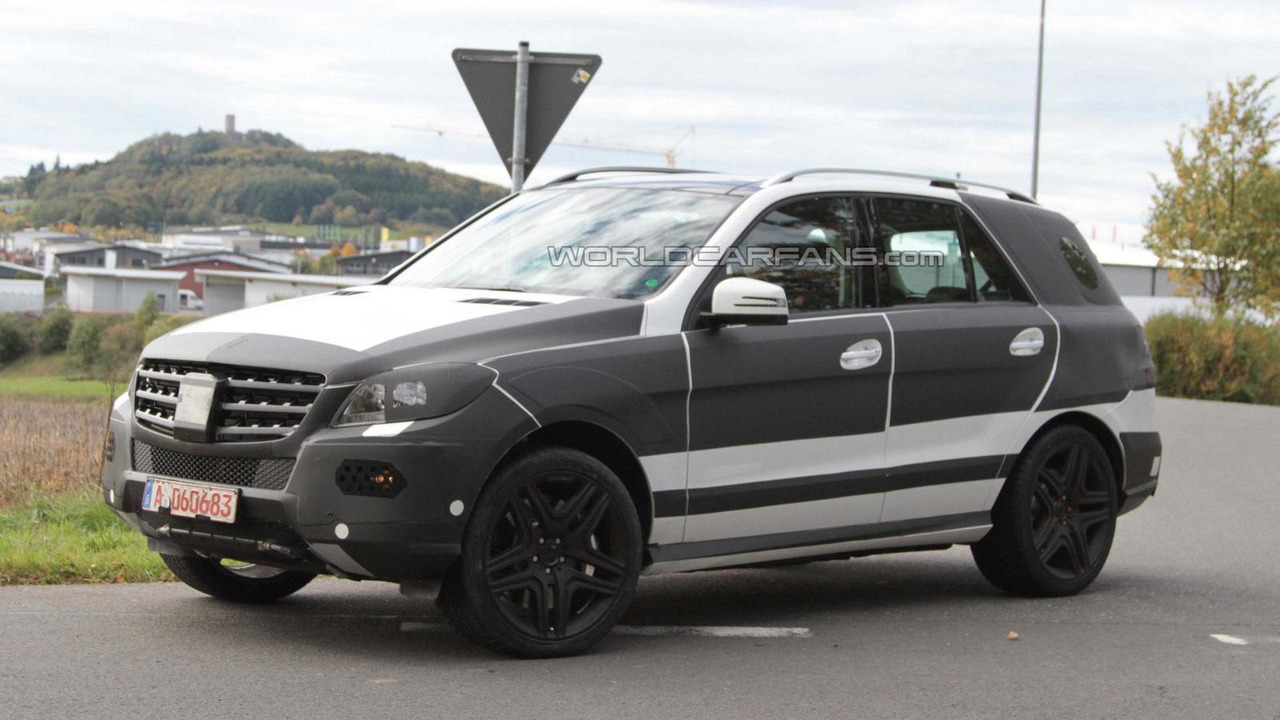 2012 Mercedes ML AMG